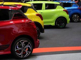 แนวทางการใส่ ล้อแม็ก Suzuki swift2018