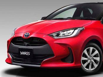 Spyshot Toyota Yaris